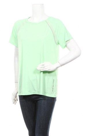 Дамска тениска ONLY, Размер L, Цвят Зелен, 69% полиамид, 31% еластан, Цена 15,60лв.