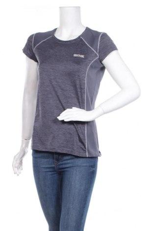 Дамска тениска Regatta, Размер L, Цвят Син, Полиестер, Цена 25,50лв.
