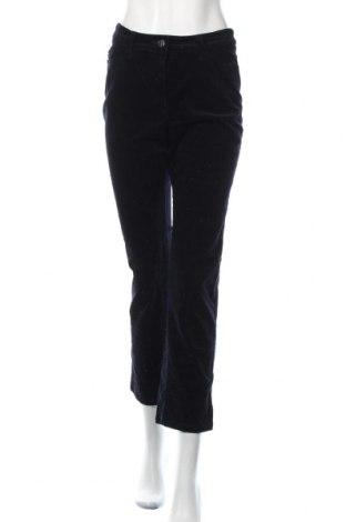 Γυναικείο κοτλέ παντελόνι Canda, Μέγεθος S, Χρώμα Μπλέ, Τιμή 14,94€