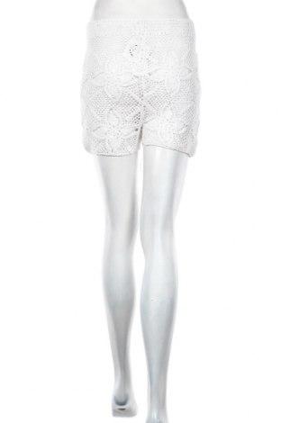 Дамски къс панталон Oysho, Размер M, Цвят Бял, Памук, Цена 31,50лв.