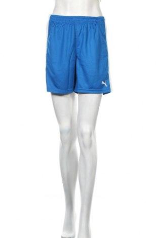 Дамски къс панталон PUMA, Размер M, Цвят Син, Полиестер, Цена 44,25лв.