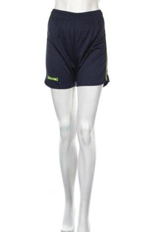 Дамски къс панталон Spalding, Размер XS, Цвят Син, Полиестер, Цена 11,52лв.
