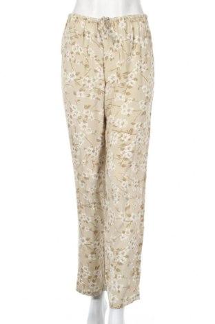Дамски панталон Oysho, Размер S, Цвят Бежов, Вискоза, Цена 46,50лв.