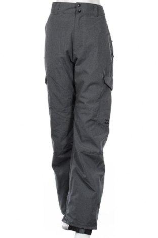 Дамски панталон за зимни спортове Billabong, Размер XL, Цвят Сив, Полиестер, Цена 91,98лв.