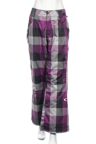 Дамски панталон за зимни спортове Oakley, Размер XL, Цвят Многоцветен, Полиестер, Цена 26,78лв.