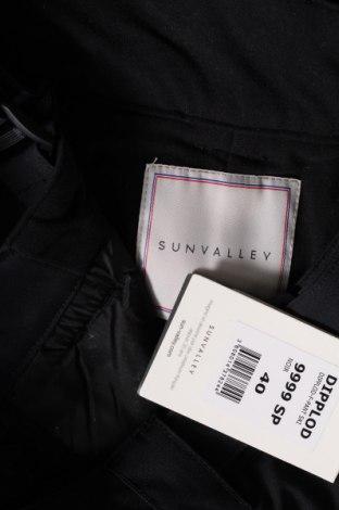 Дамски панталон за зимни спортове Sun Valley, Размер M, Цвят Черен, Полиестер, Цена 94,87лв.