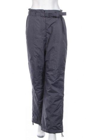 Дамски панталон за зимни спортове TCM, Размер L, Цвят Сив, Полиестер, Цена 18,11лв.