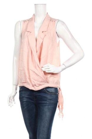 Γυναικείο αμάνικο μπλουζάκι La Mode Est A Vous, Μέγεθος S, Χρώμα Ρόζ , Βισκόζη, Τιμή 7,54€