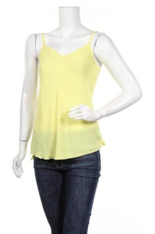 Γυναικείο αμάνικο μπλουζάκι La Mode Est A Vous, Μέγεθος S, Χρώμα Κίτρινο, Πολυεστέρας, Τιμή 5,76€