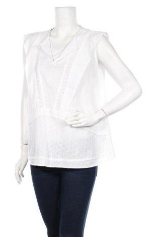 Γυναικείο αμάνικο μπλουζάκι Stella Nova, Μέγεθος M, Χρώμα Λευκό, Βαμβάκι, Τιμή 11,69€