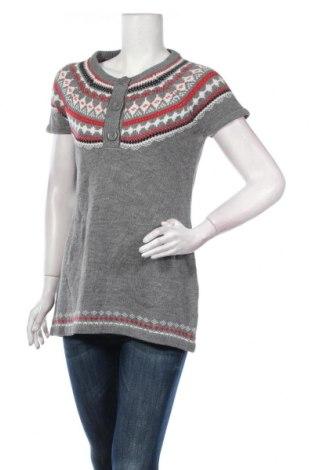 Дамски пуловер Ajc, Размер L, Цвят Сив, 50% памук, 50% полиакрил, Цена 7,61лв.