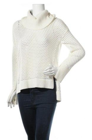 Дамски пуловер BCBG Max Azria, Размер XS, Цвят Екрю, 50% памук, 25% полиамид, 25% вълна, Цена 63,07лв.