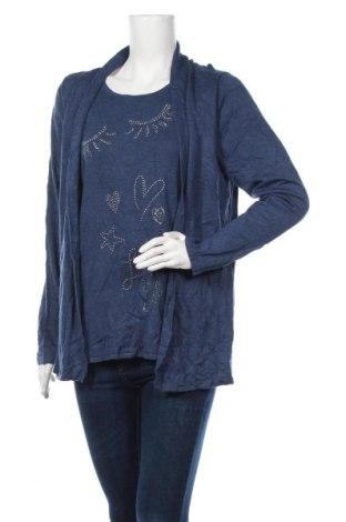 Γυναικείο πουλόβερ Canda, Μέγεθος M, Χρώμα Μπλέ, Τιμή 16,89€
