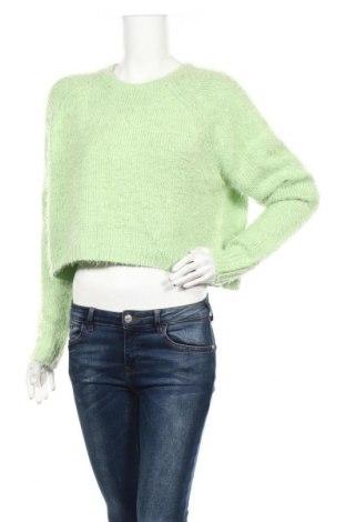 Дамски пуловер Units, Размер L, Цвят Зелен, 65% акрил, 35% полиамид, Цена 12,86лв.