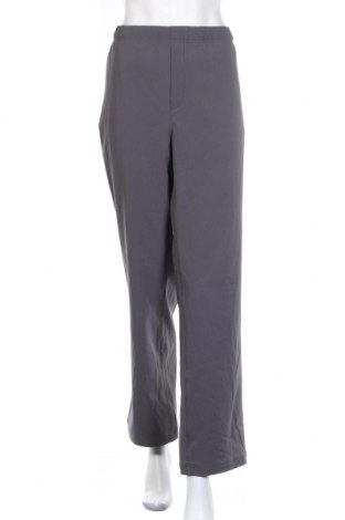 Дамски спортен панталон Eddie Bauer, Размер XL, Цвят Сив, 91% полиестер, 9% еластан, Цена 14,18лв.