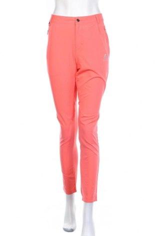 Дамски спортен панталон Odlo, Размер M, Цвят Оранжев, 86% полиестер, 14% еластан, Цена 27,52лв.