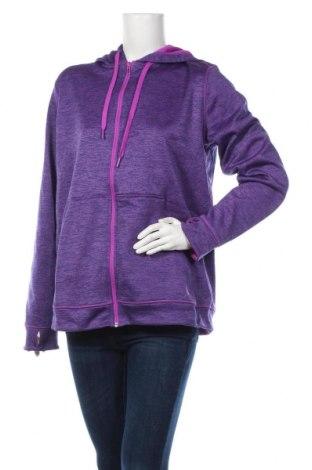 Damska bluza Adidas, Rozmiar XL, Kolor Fioletowy, Poliester, Cena 128,25zł