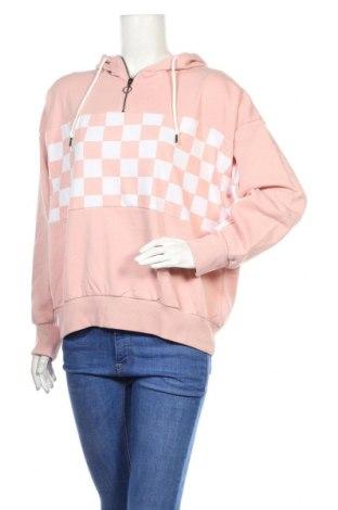 Damska bluza Undiz, Rozmiar L, Kolor Różowy, 80% bawełna, 20% poliester, Cena 91,88zł