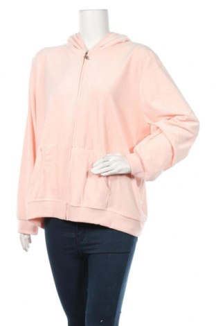 Damska bluza Venca, Rozmiar 4XL, Kolor Różowy, 75% bawełna, 25% poliester, Cena 82,50zł