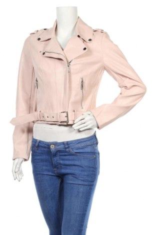 Дамско кожено яке Morgan De Toi, Размер L, Цвят Розов, Еко кожа, Цена 35,70лв.