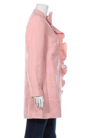Дамско палто Body Flirt, Размер M, Цвят Розов, 90% полиестер, 10% вълна, Цена 28,06лв.