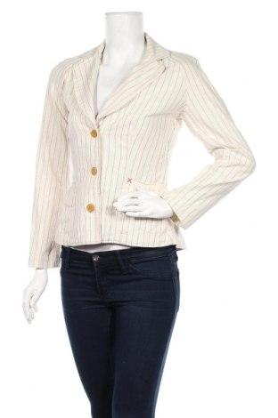 Дамско сако Noa Noa, Размер XS, Цвят Бежов, 96% памук, 4% полиестер, Цена 20,70лв.
