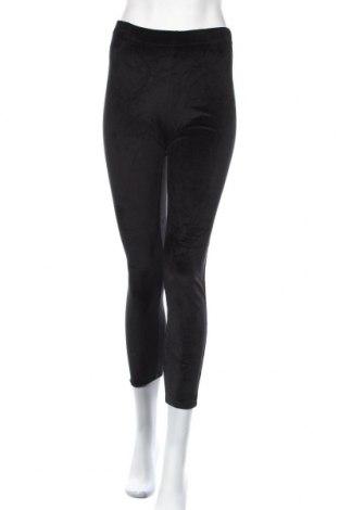 Дамско спортно долнище, Размер M, Цвят Черен, 98% памук, 2% еластан, Цена 7,35лв.