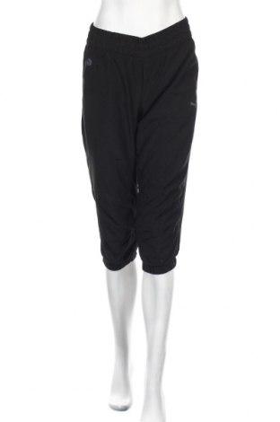 Дамско спортно долнище PUMA, Размер S, Цвят Черен, 100% полиестер, Цена 66,75лв.