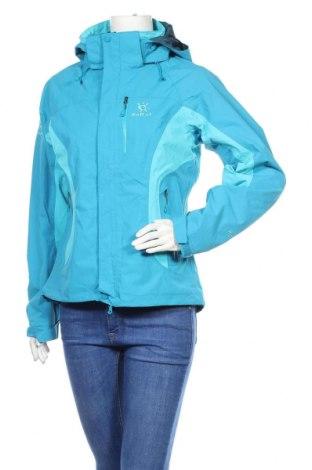 Дамско спортно яке, Размер M, Цвят Син, Полиамид, Цена 18,90лв.