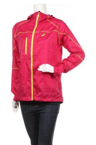Дамско спортно яке ASICS, Размер L, Цвят Розов, Полиестер, Цена 13,97лв.