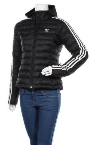 Дамско спортно яке Adidas, Размер S, Цвят Черен, Полиамид, Цена 153,17лв.