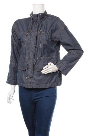 Дамско яке, Размер S, Цвят Син, 65% полиестер, 35% памук, Цена 33,60лв.