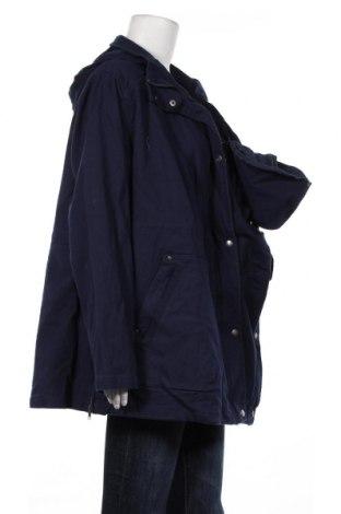 Дамско яке Bpc Bonprix Collection, Размер XXL, Цвят Син, 97% памук, 3% еластан, Цена 28,00лв.