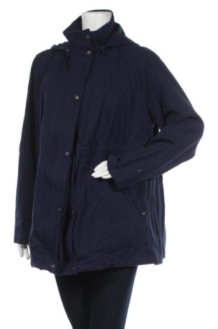 Дамско яке Bpc Bonprix Collection, Размер XXL, Цвят Син, 97% памук, 3% еластан, Цена 40,32лв.