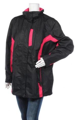 Дамско спортно яке Bpc Bonprix Collection, Размер XXL, Цвят Черен, Полиестер, Цена 12,86лв.