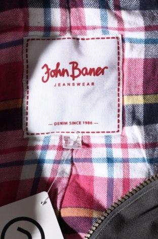Дамско яке John Baner, Размер M, Цвят Сив, Памук, Цена 39,20лв.