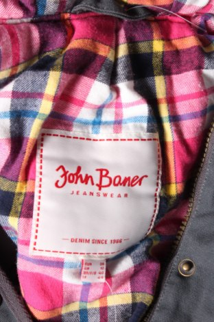 Дамско яке John Baner, Размер M, Цвят Сив, Памук, Цена 28,00лв.