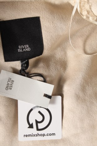 Дамско яке River Island, Размер M, Цвят Бежов, Полиестер, Цена 52,82лв.