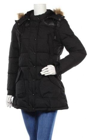 Дамско яке Schott, Размер L, Цвят Черен, 65% полиестер, 35% памук, Цена 140,04лв.