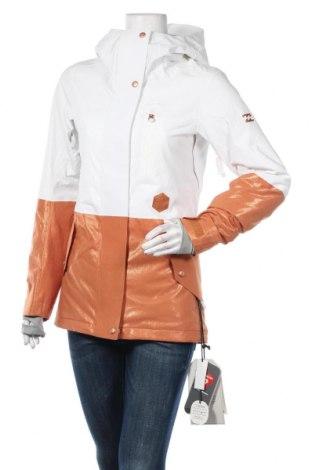Дамско яке за зимни спортове Billabong, Размер XS, Цвят Кафяв, 100% полиестер, Цена 197,45лв.