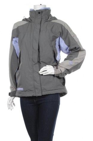 Дамско яке за зимни спортове Columbia, Размер M, Цвят Сив, Полиамид, Цена 33,81лв.