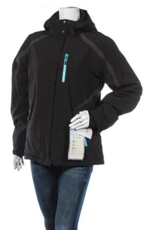 Дамско яке за зимни спортове Sugar Mountain, Размер M, Цвят Черен, 96% полиестер, 4% еластан, Цена 49,61лв.