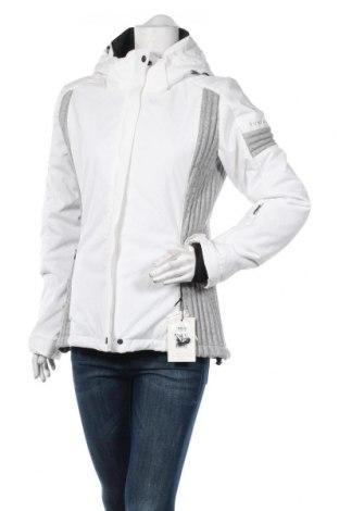 Дамско яке за зимни спортове Sun Valley, Размер M, Цвят Бял, Полиестер, Цена 89,50лв.