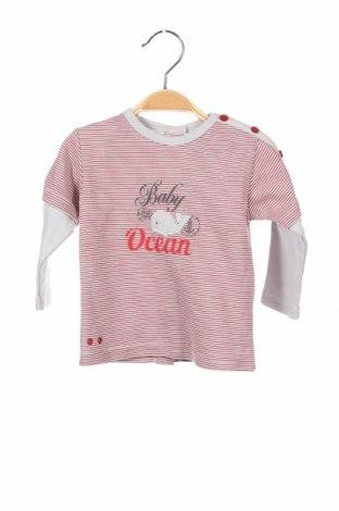 Детска блуза Absorba, Размер 3-6m/ 62-68 см, Цвят Червен, Памук, Цена 6,48лв.