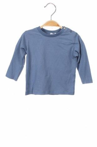 Детска блуза Absorba, Размер 3-6m/ 62-68 см, Цвят Син, 95% памук, 5% еластан, Цена 6,48лв.