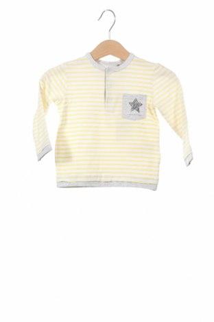 Детска блуза Belly Button, Размер 3-6m/ 62-68 см, Цвят Жълт, Памук, Цена 12,48лв.