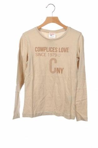 Детска блуза Complices, Размер 10-11y/ 146-152 см, Цвят Бежов, Памук, Цена 7,20лв.