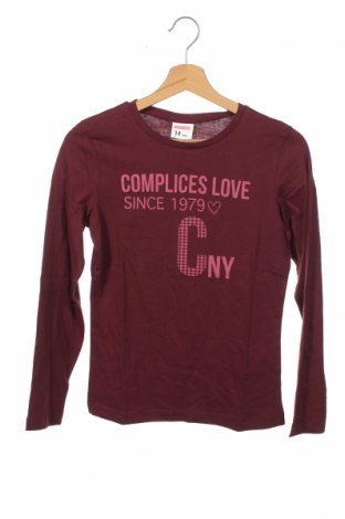 Детска блуза Complices, Размер 14-15y/ 168-170 см, Цвят Лилав, Памук, Цена 7,20лв.