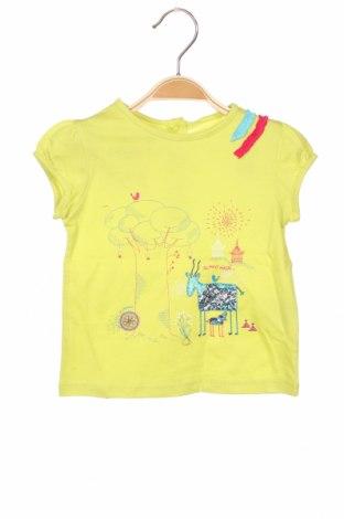 Детска блуза La Compagnie des Petits, Размер 12-18m/ 80-86 см, Цвят Зелен, 100% памук, Цена 5,44лв.