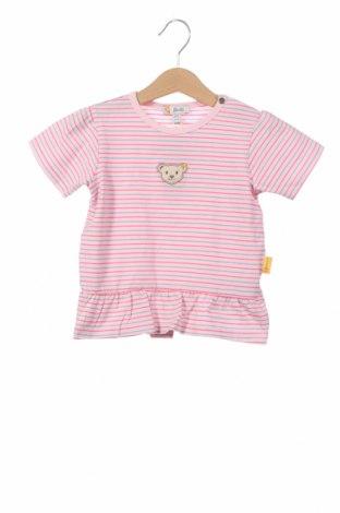 Детска блуза Steiff, Размер 12-18m/ 80-86 см, Цвят Розов, 95% памук, 5% еластан, Цена 6,80лв.